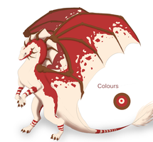 Dragon Adoptable -Closed- by leplizz