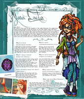 EverAfterHigh Bio Box YARA LANTIS by Yaraffinity