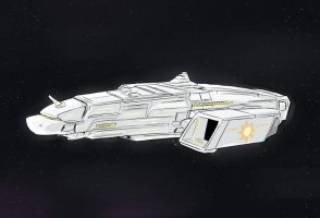 Equestrian Battle Cruiser by UC77