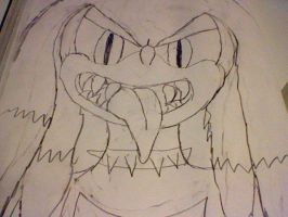KNUCKLES THE WERECHIDNA by SCOURGESBABE