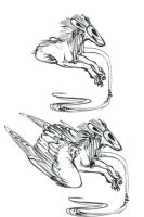 Torque sketches by Feathered-Manx