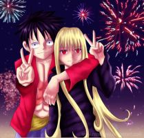 Luffy x Rene_Road To 2011 by renealexa-diary