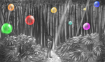 Forest of Bubbles by StripedSamurai