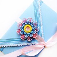 quilling envelope sweetness by othewhitewizard