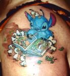 "Disney Stitch ""I'M LOST..."" by tattoo-starlet"