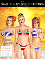 DOA Pose Collection (Retaliation Edition) by IKeelYou457