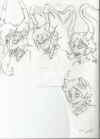 Fantroll Doodles I Did During Class... by TheLoveOfNayru