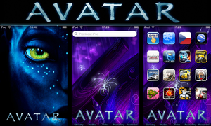 AVATAR ipod and Iphone theme by iSugar