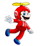 SMB Suits Collab_Propeller Mario by Chivi-chivik