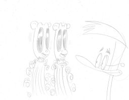 Duckman sketches 5 by dudiho