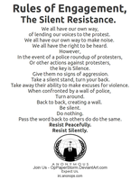 Rules Of Engagement - Silent Resistance by OpPaperStorm