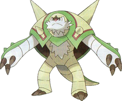 Chesnaught by KrocF4
