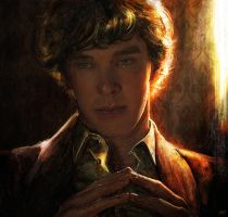 The Detective (Sherlock) by Petite-Madame
