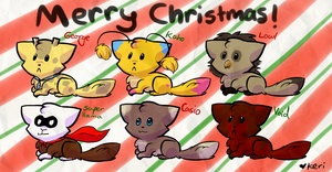 Merry Christmas to my friends by Kerixai
