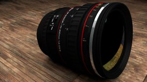 3D Camera Lens - C4D by cytherina