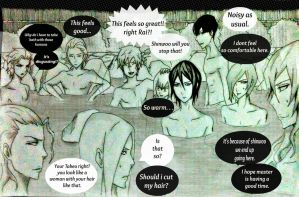 At the Hot spring_Page 1/3(Noblesse) by QuiZa11