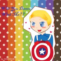 steve rogers ''will you dance with me???'' by sovarove