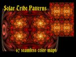 Solar Tribe patterns by PhotoComix2
