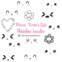 Blaue Rose's Cute Brushes 1 by Blaue-Rose