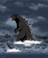 LEGENDARY GODZILLA by arkan54
