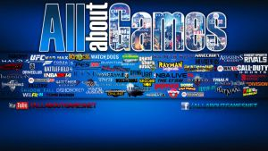 All about Games Wallpaper by eduard2009