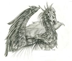 dragon-of-old by gyrfalconthegray