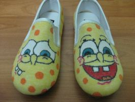 Spongebob shoes by RaZero0