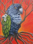 Surreal Parrot by Ealthy
