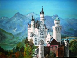 Neuschwanstein by poranna