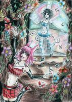 ..Chasing the Pink Rabbit.. by NatsukoBerry-san