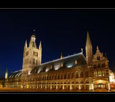 Ieper - Cloth Hall by lux69aeterna