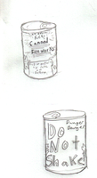 Canned fireworks by wingsgirl