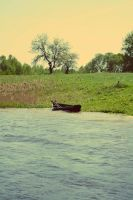 Lonely boat by daarka7