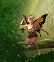Wood Faerie by vera48