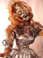OOAK Dead Girl-- Aren't I Pretty? by DoNotWakeMe