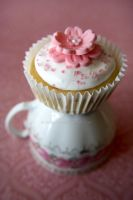 Teacups and Cupcakes by BilliePop