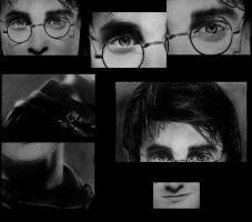 Harry Potter closeups by IsabelIntangible