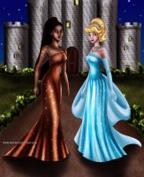 Pocahontas and Cinderella Designer Collection by Mareishon
