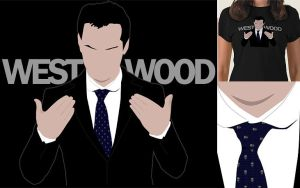 Moriarty 'WESTWOOD' Tee Shirt by fudgemallow
