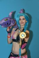 Jinx on the Gamesom! by DaniStormbornCosplay