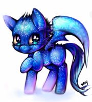 Toothless Nightfury Pony. by Sukesha-Ray