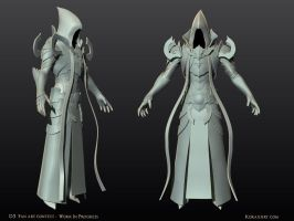 Malthael - Diablo III Fan Art Contest WIP1 by KoraxArt