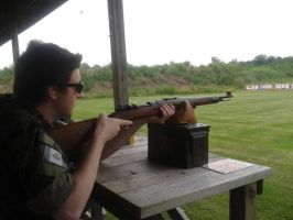 Range Day - Some Bolt Action (1) by TheWarRises
