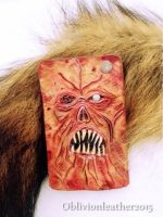 Necronomicon - Exmortis - Book of the dead by Oblivionleather76
