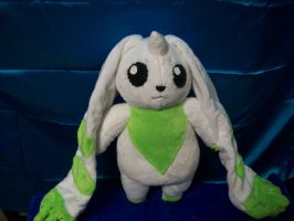 Terriermon plush! by PollyRockets