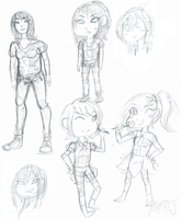 Sketch Dump by HonTheAwesome