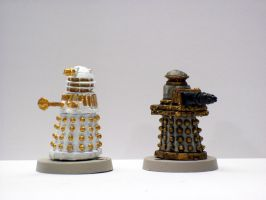 Imperial Daleks by DoctorVorlon