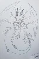 Critter 1 - Uncoloured, Unfinished by lemony-kitty