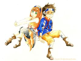 [Commission] Rena and Obito by Lucas-Bo