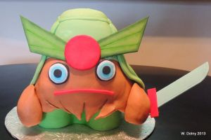 Moshi Monster Cake by lenslady